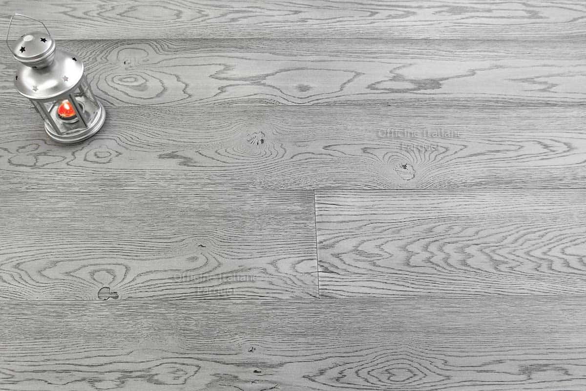 Parquet rovere grigio chiaro 100 made in italy for Parquet grigio chiaro